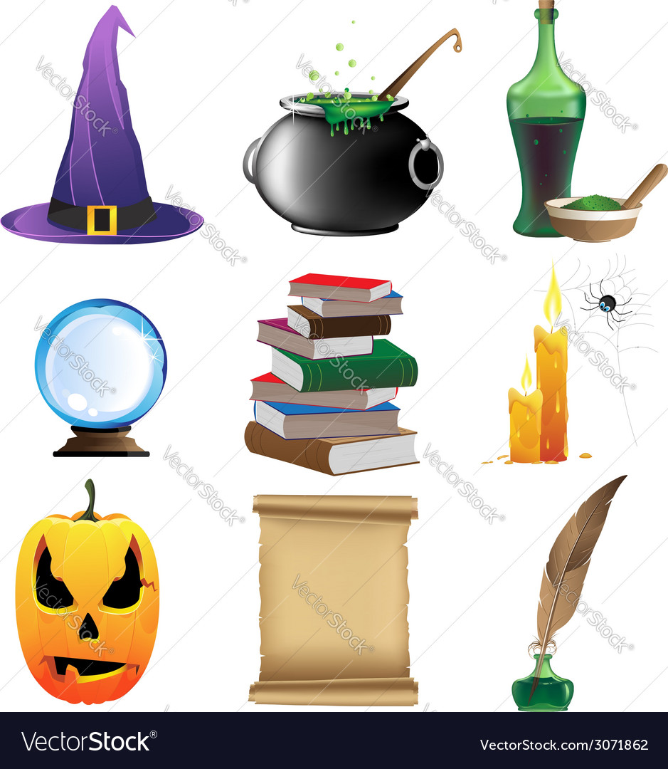Magic objects vector | Price: 1 Credit (USD $1)
