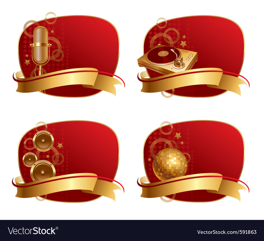 Musical equipments vector | Price: 3 Credit (USD $3)