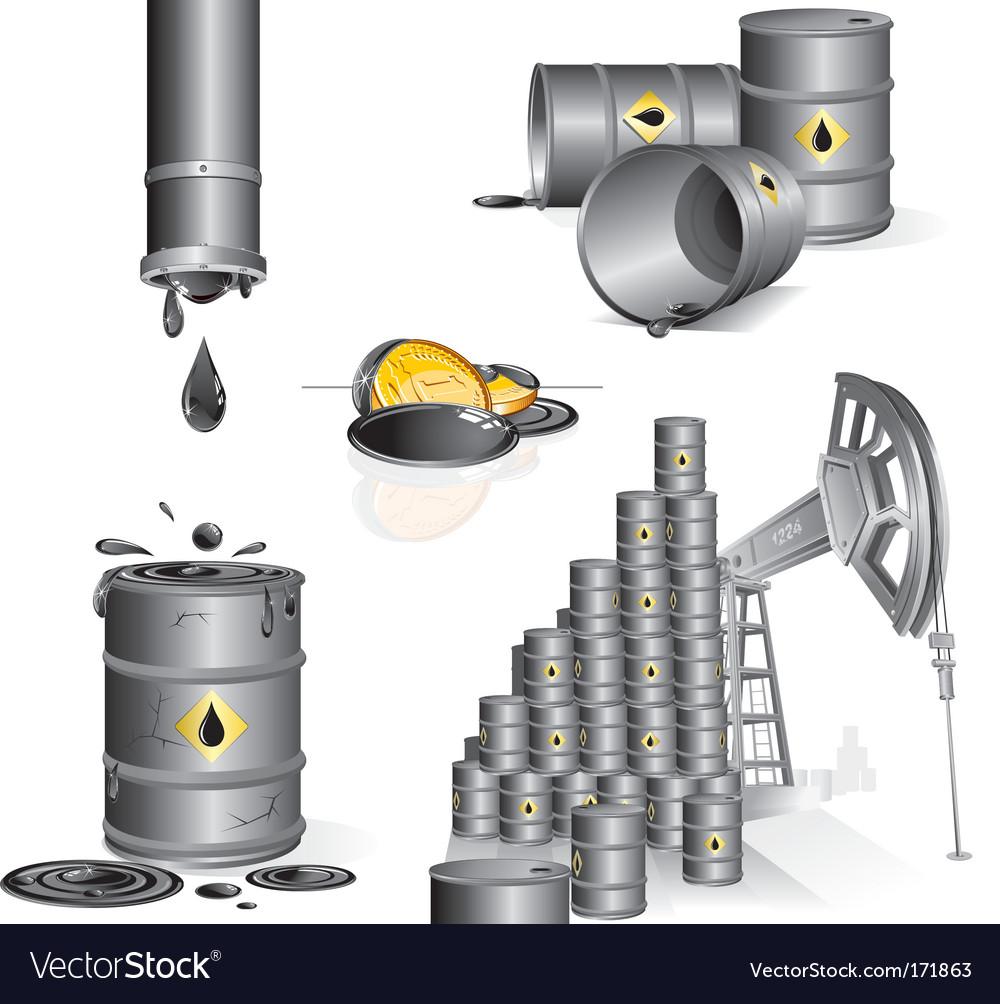 Oil set vector   Price: 1 Credit (USD $1)