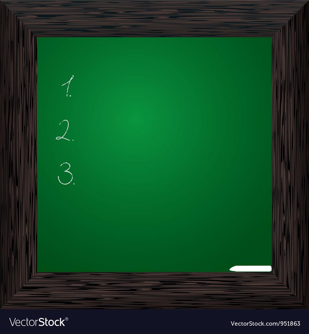Wood bord green dark vector | Price: 1 Credit (USD $1)