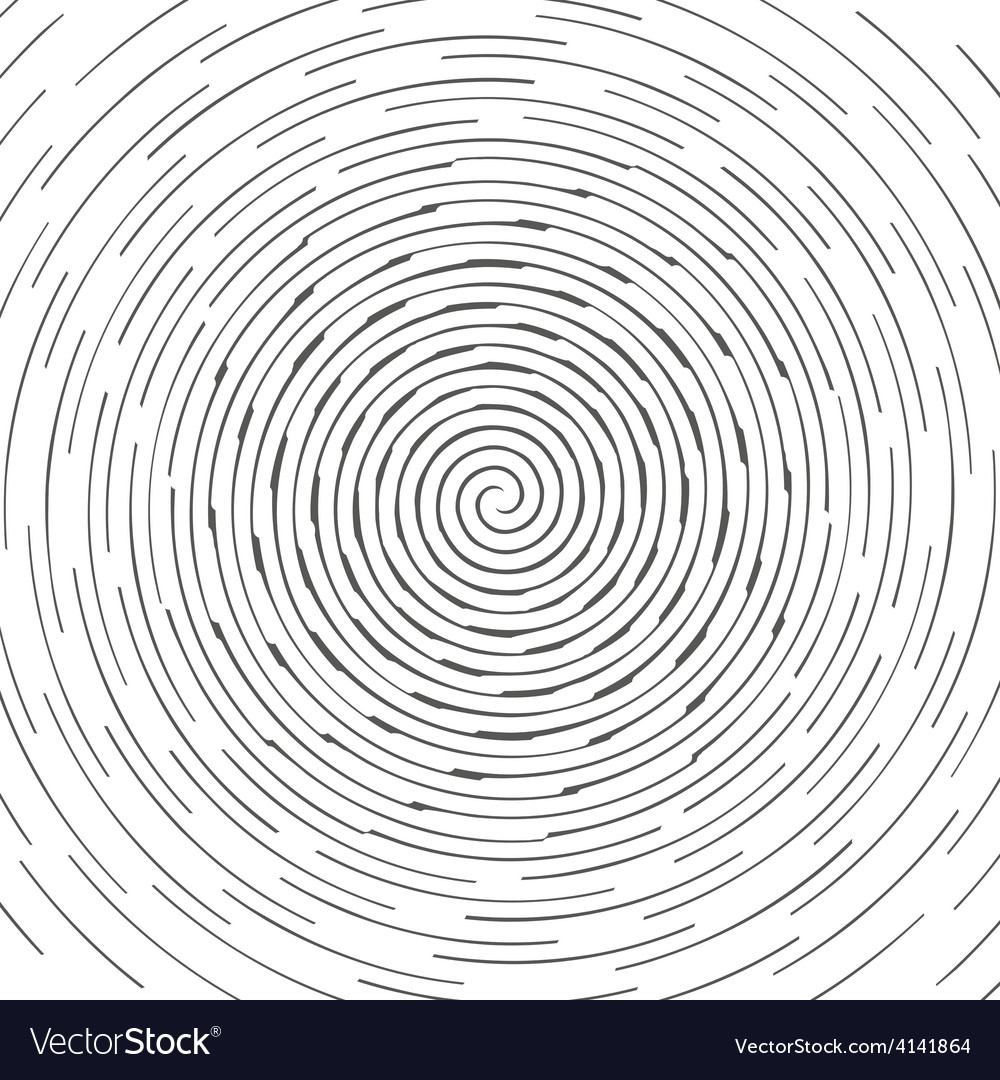 Abstract spiral design pattern circular rotating vector | Price: 1 Credit (USD $1)