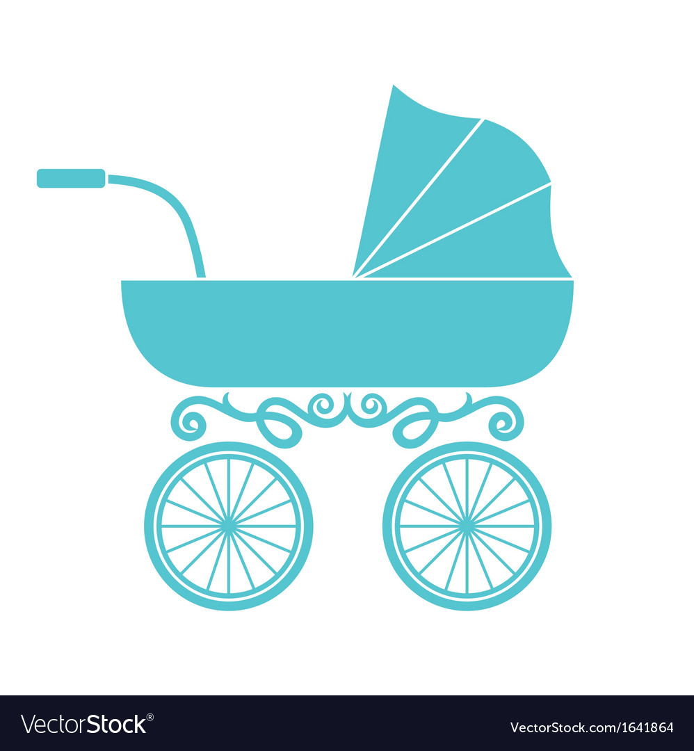 Pram - baby carriage vector | Price: 1 Credit (USD $1)