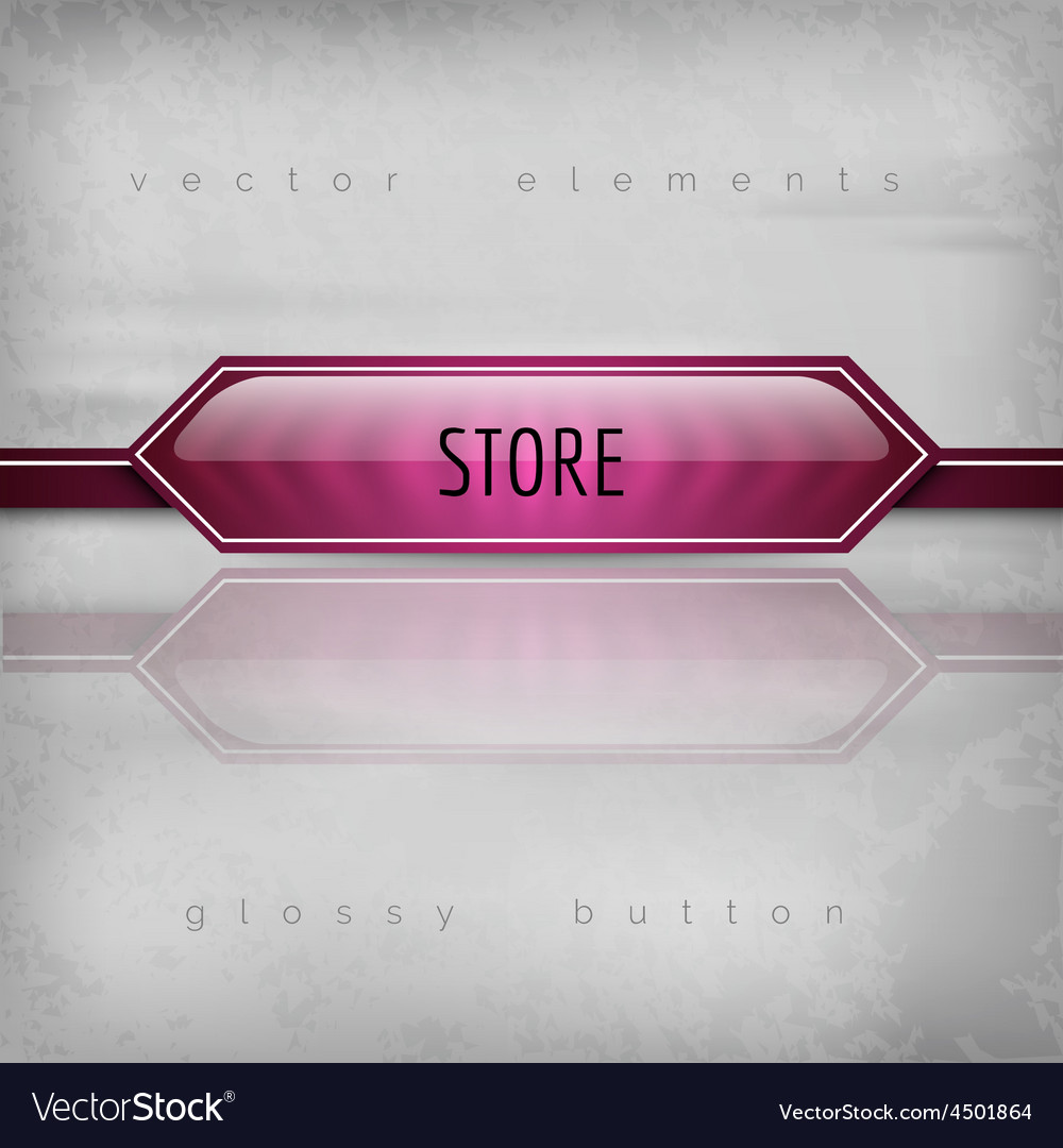 Store button vector | Price: 1 Credit (USD $1)