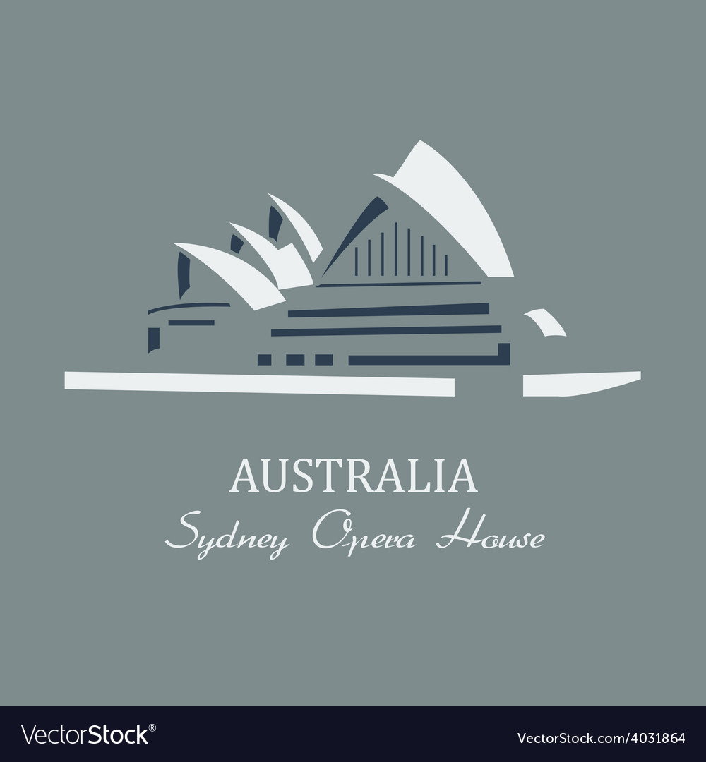 Sydney opera house vector | Price: 1 Credit (USD $1)