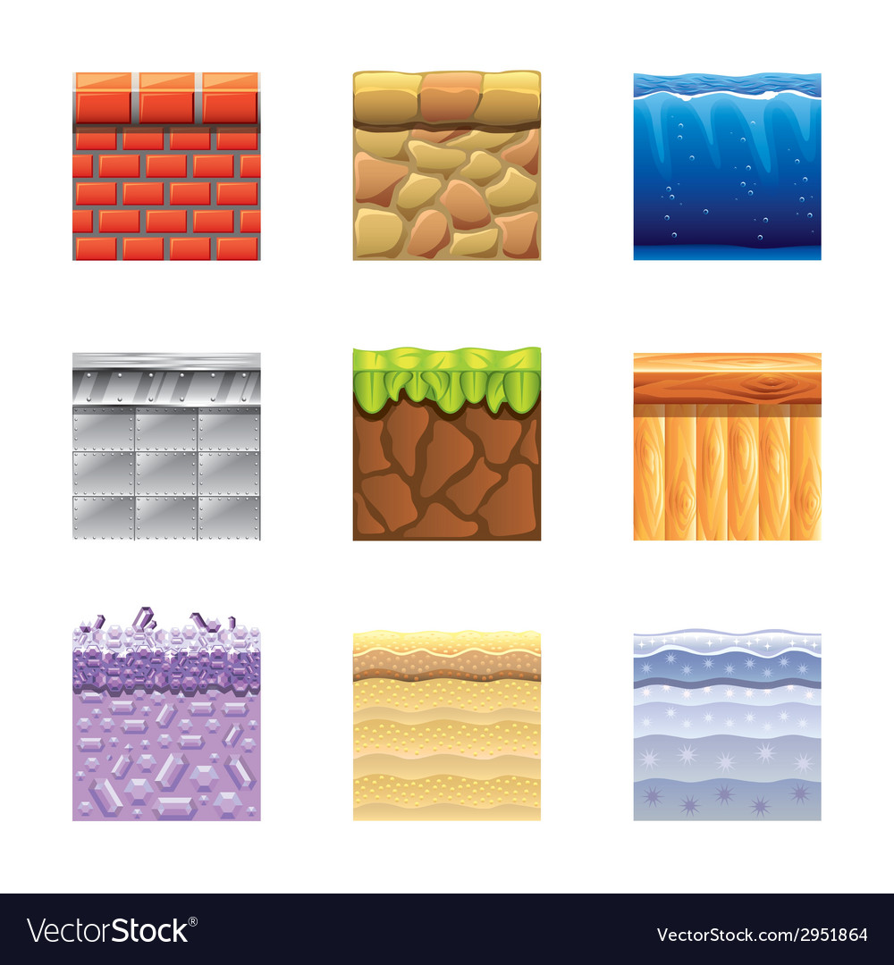 Textures for games vector | Price: 3 Credit (USD $3)