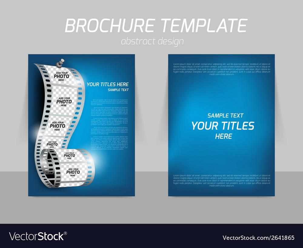 Cinema flyer vector | Price: 1 Credit (USD $1)