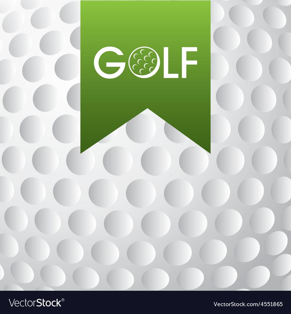 Golf club emblem vector | Price: 1 Credit (USD $1)