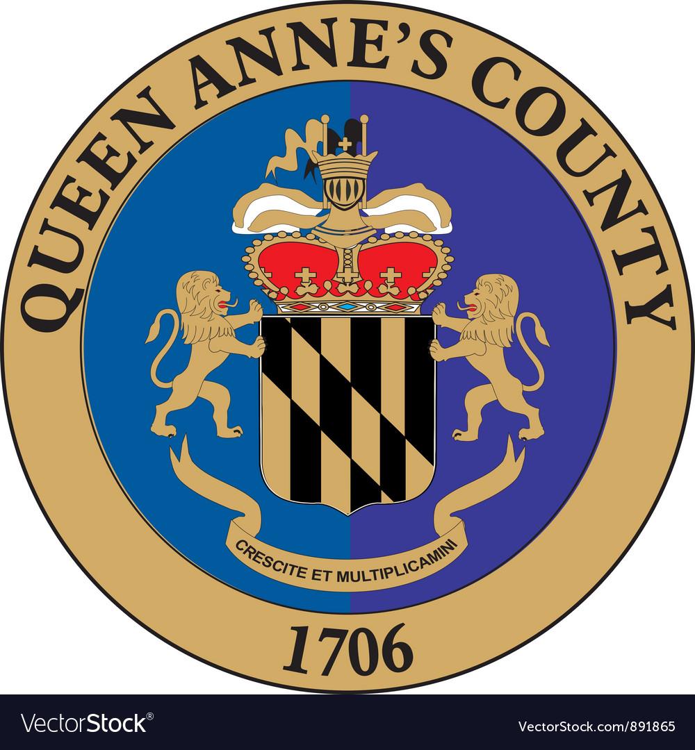 Queen annes county vector | Price: 1 Credit (USD $1)