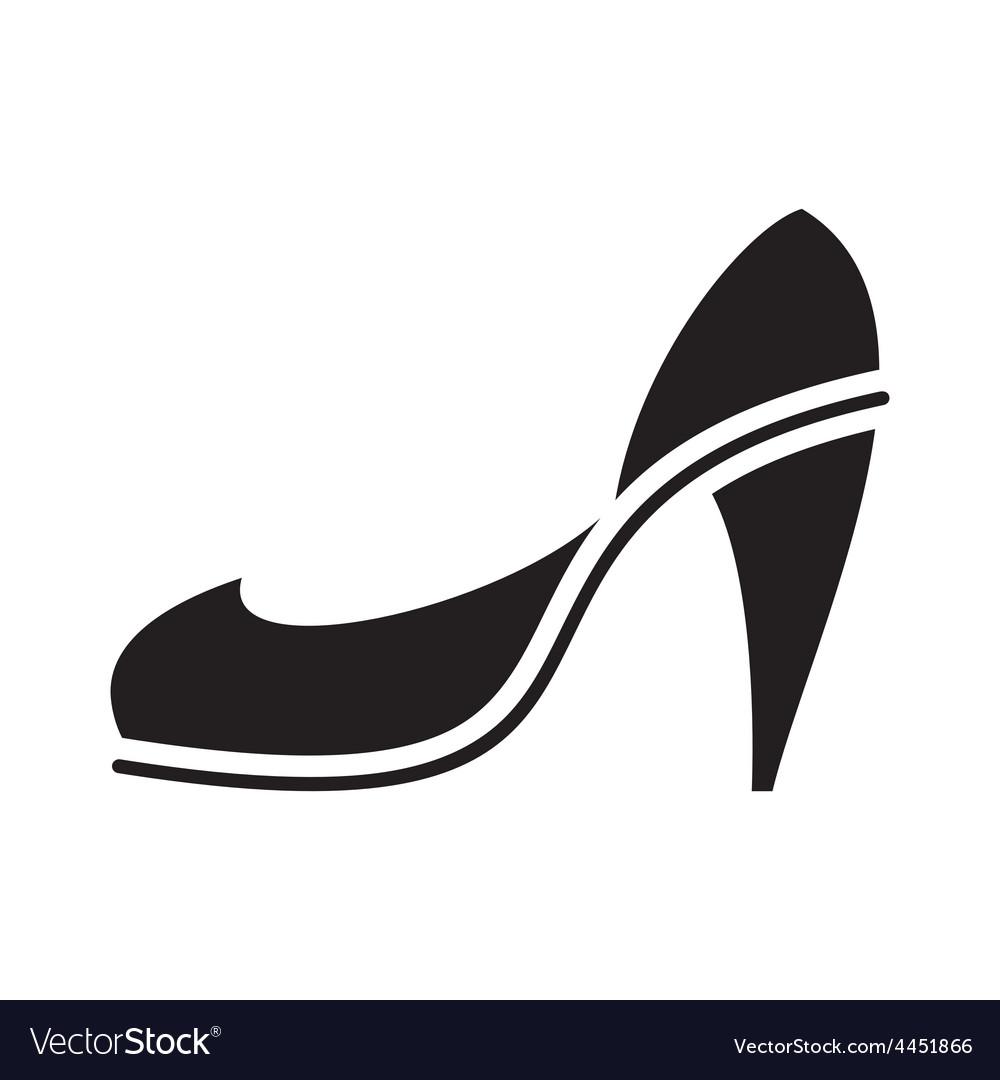 Black high heel vector | Price: 1 Credit (USD $1)