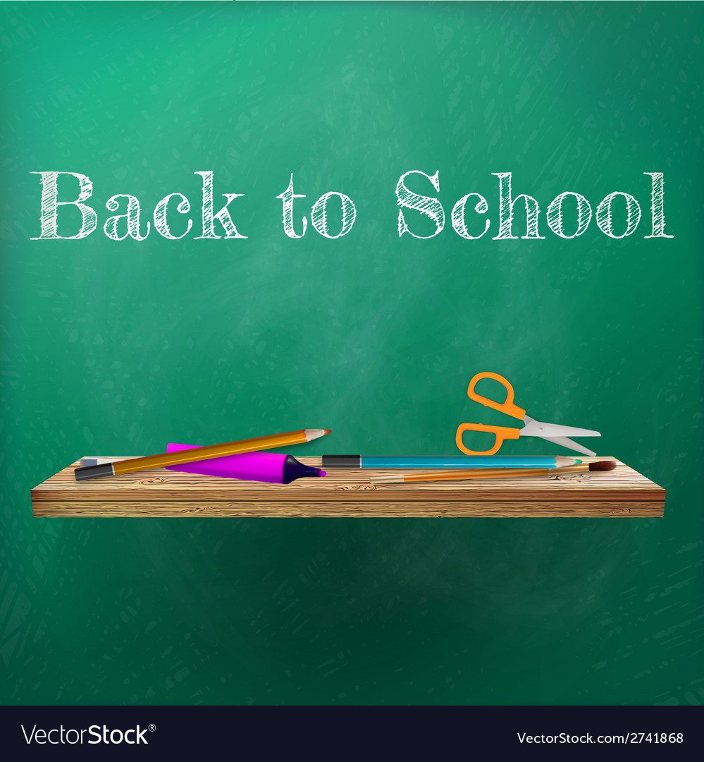 Welcome back to school template design plus eps10 vector | Price: 1 Credit (USD $1)