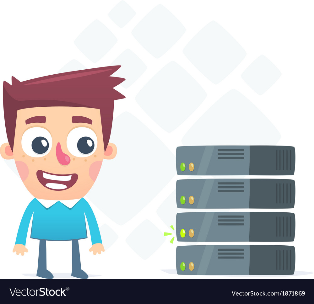 Available server vector | Price: 1 Credit (USD $1)