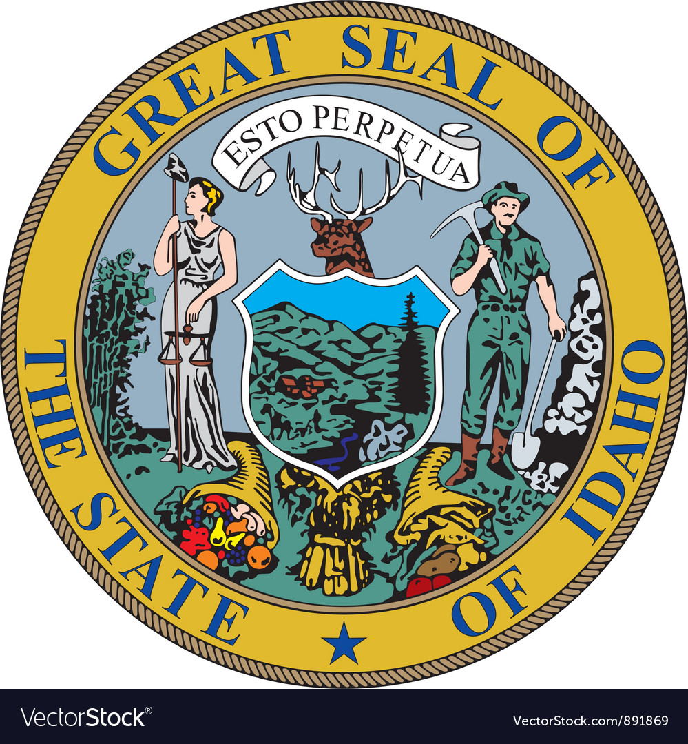 Idaho seal vector | Price: 1 Credit (USD $1)