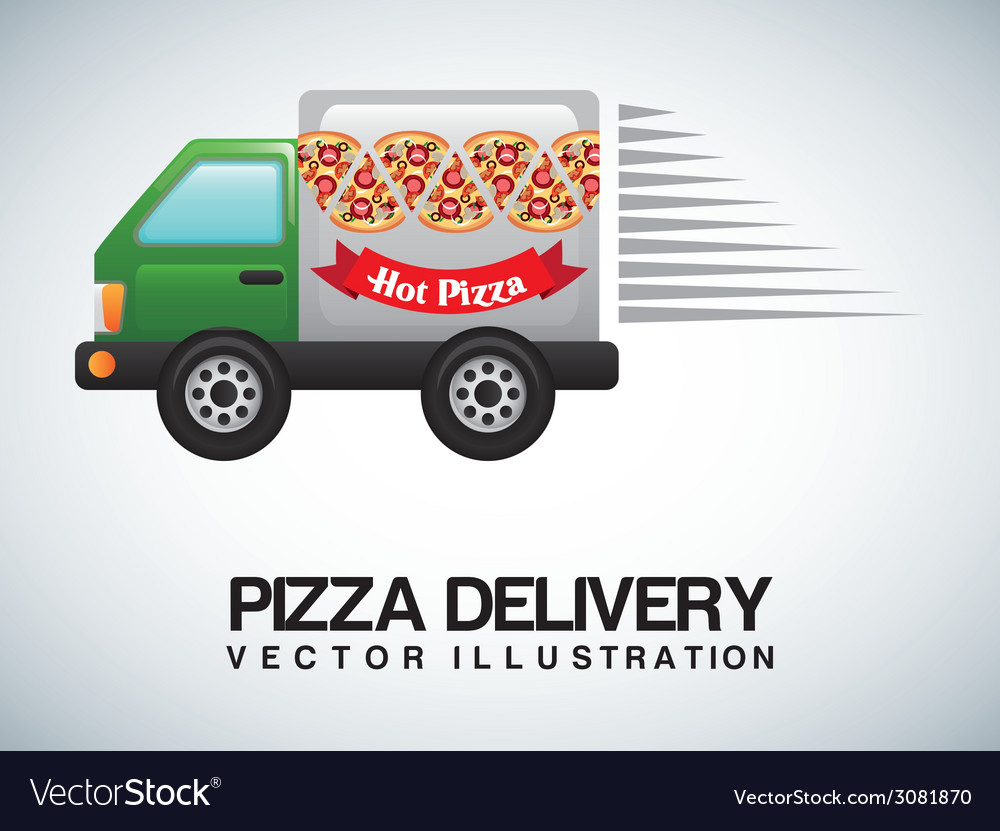 Pizza design vector | Price: 1 Credit (USD $1)