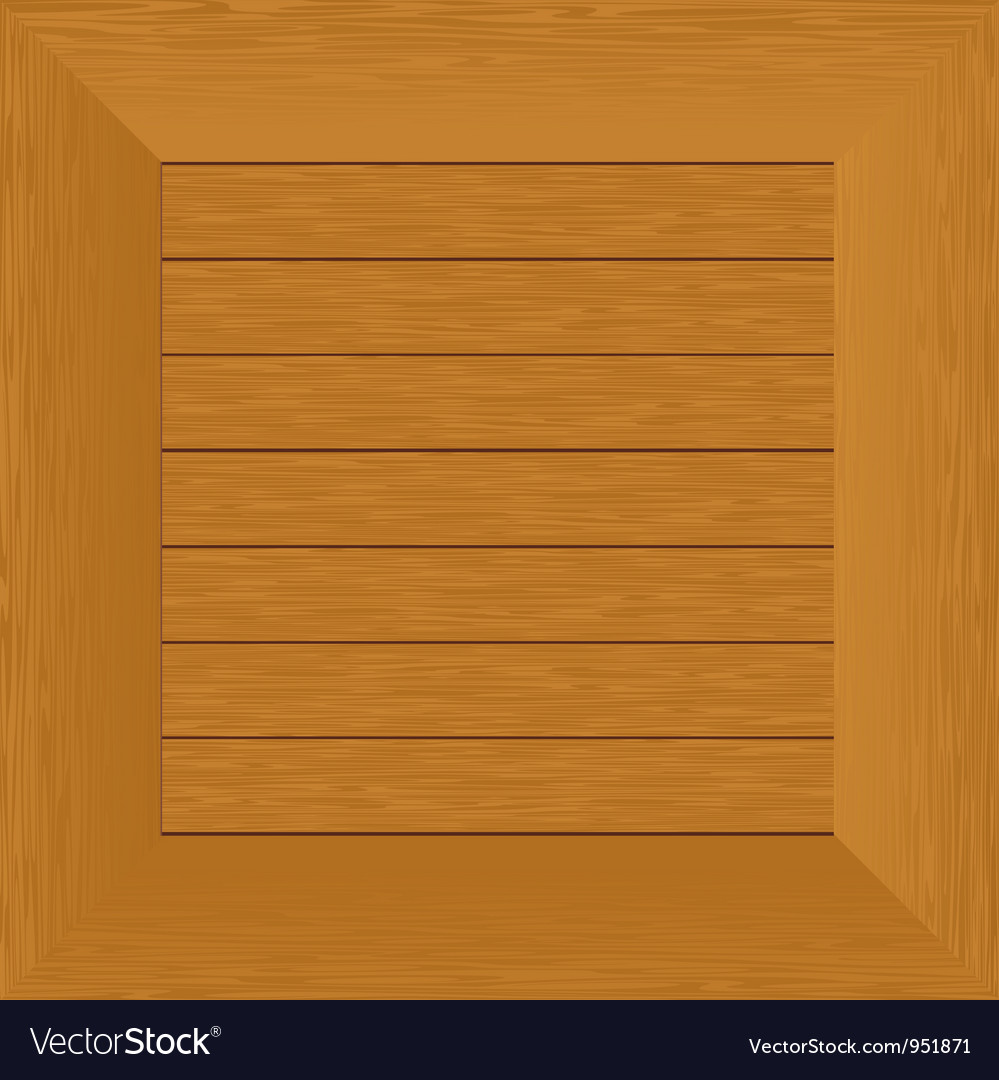 Wood frame board vector | Price: 1 Credit (USD $1)