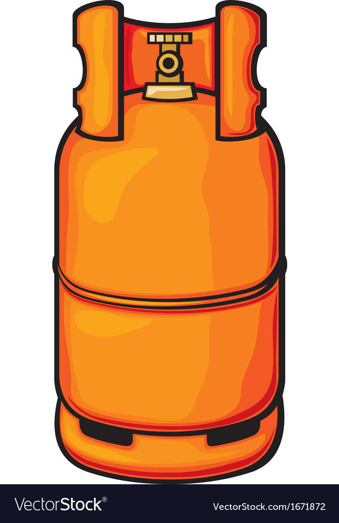A propane gas cylinder vector | Price: 1 Credit (USD $1)