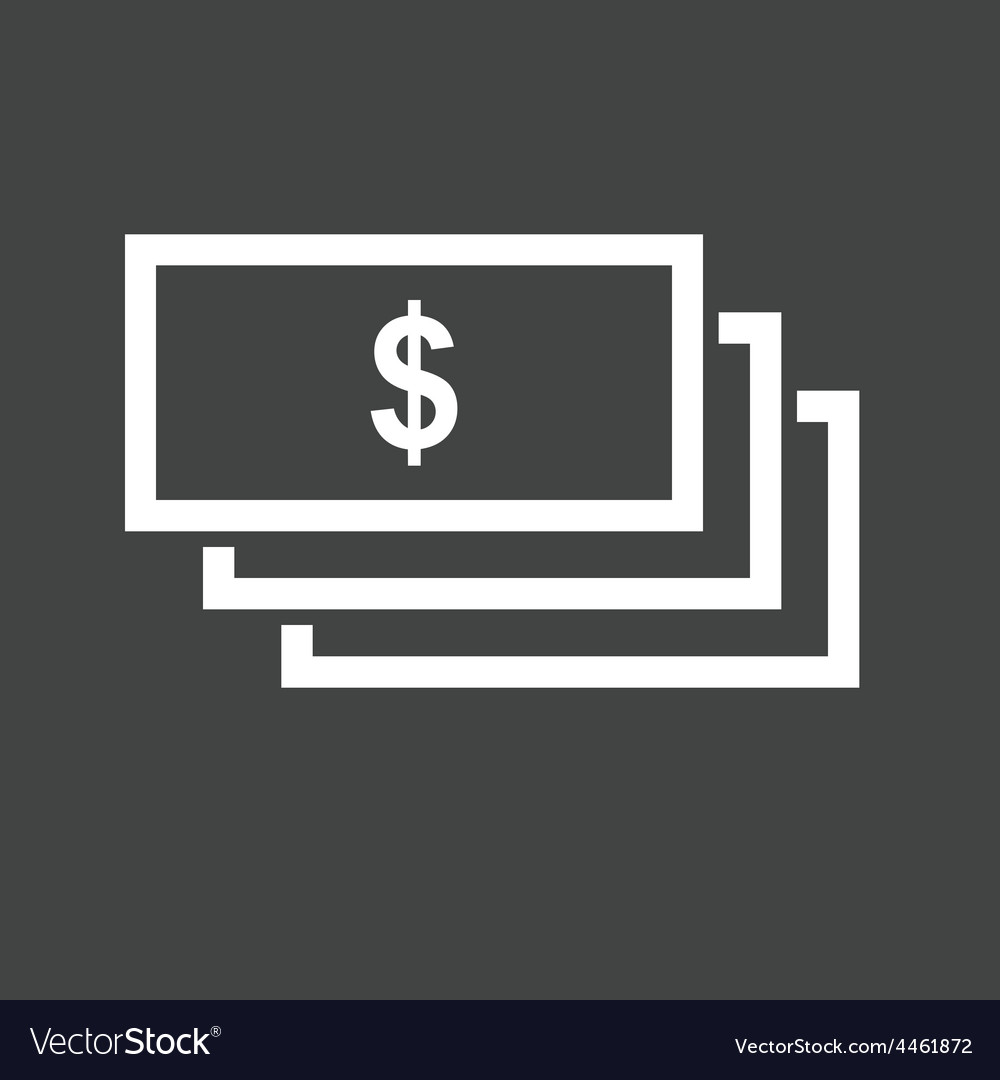 Dollar bills vector | Price: 1 Credit (USD $1)
