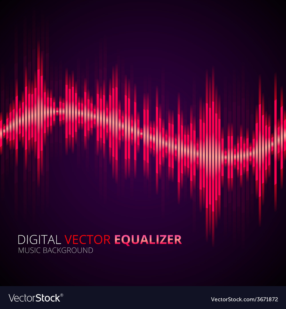 Equalizer yellow vector | Price: 1 Credit (USD $1)