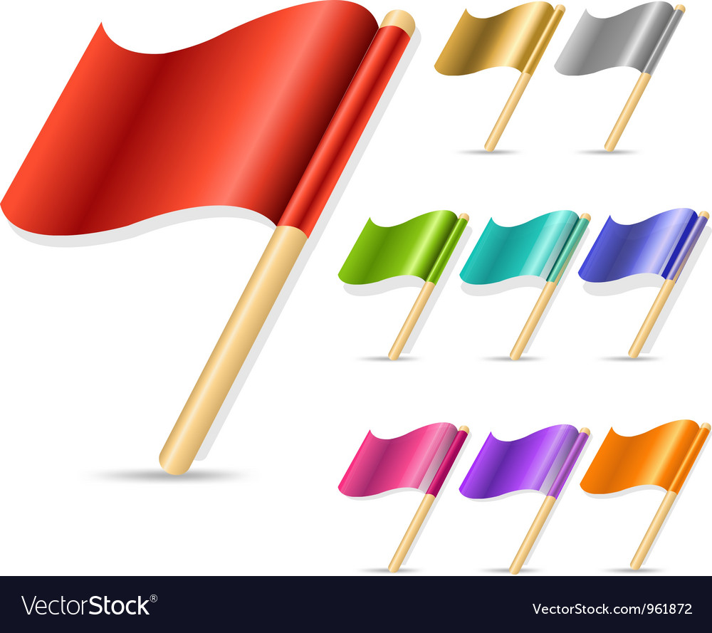 Flags vector | Price: 1 Credit (USD $1)