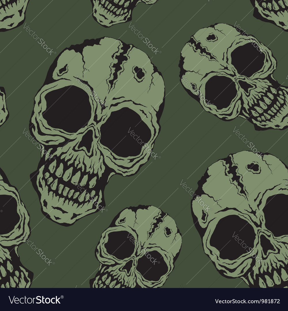 Pattern skull vector | Price: 1 Credit (USD $1)