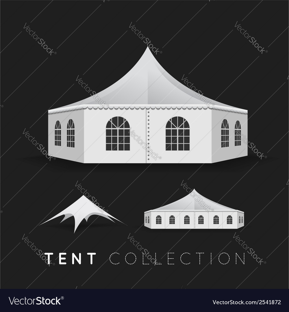 Set of tents vector | Price: 1 Credit (USD $1)