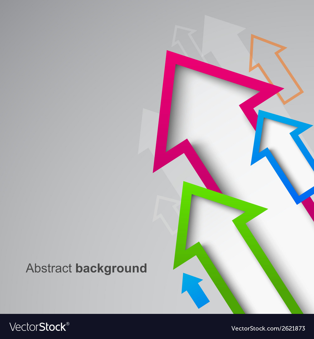Abstract arrow background eps10 vector | Price: 1 Credit (USD $1)