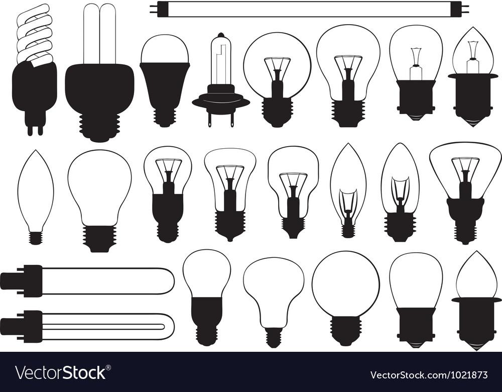 Bulbs vector | Price: 1 Credit (USD $1)