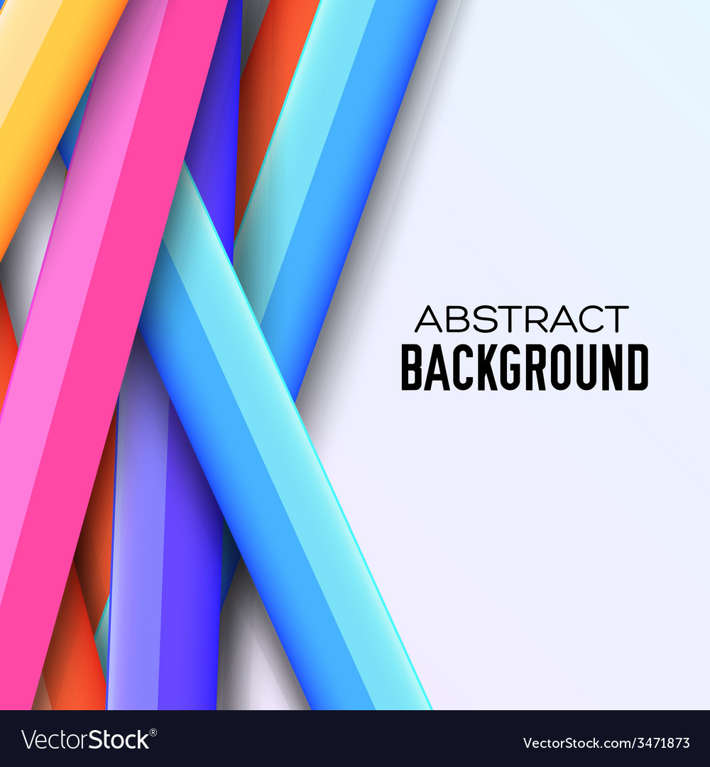 Colorful abstract background concept vector | Price: 1 Credit (USD $1)