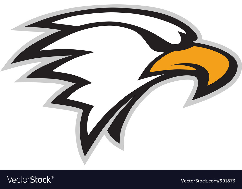 Eagle mascot vector | Price: 1 Credit (USD $1)