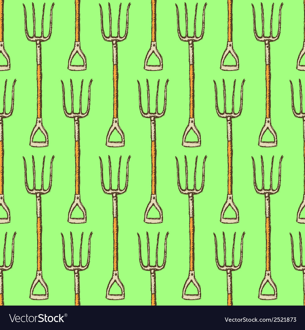 Garden fork vector | Price: 1 Credit (USD $1)
