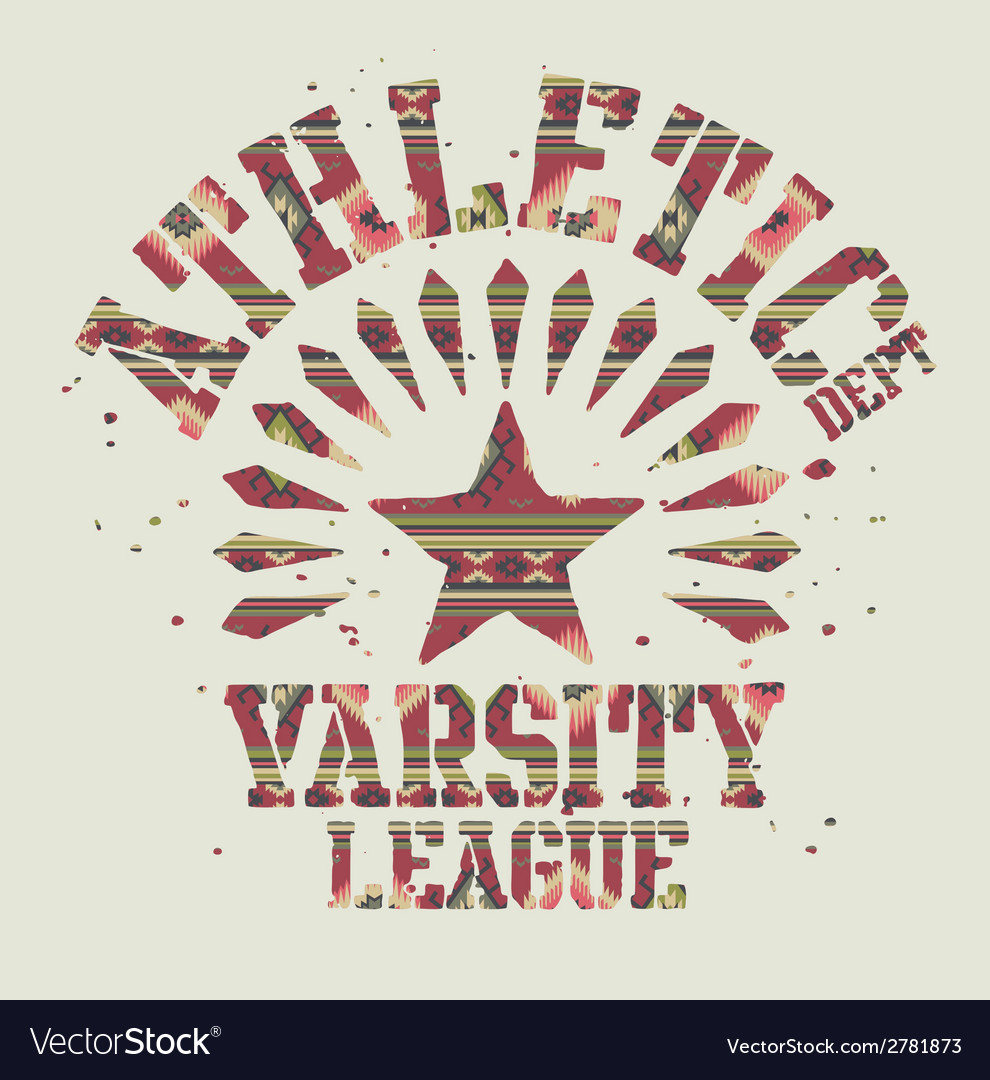 Native americans athletic vector | Price: 1 Credit (USD $1)