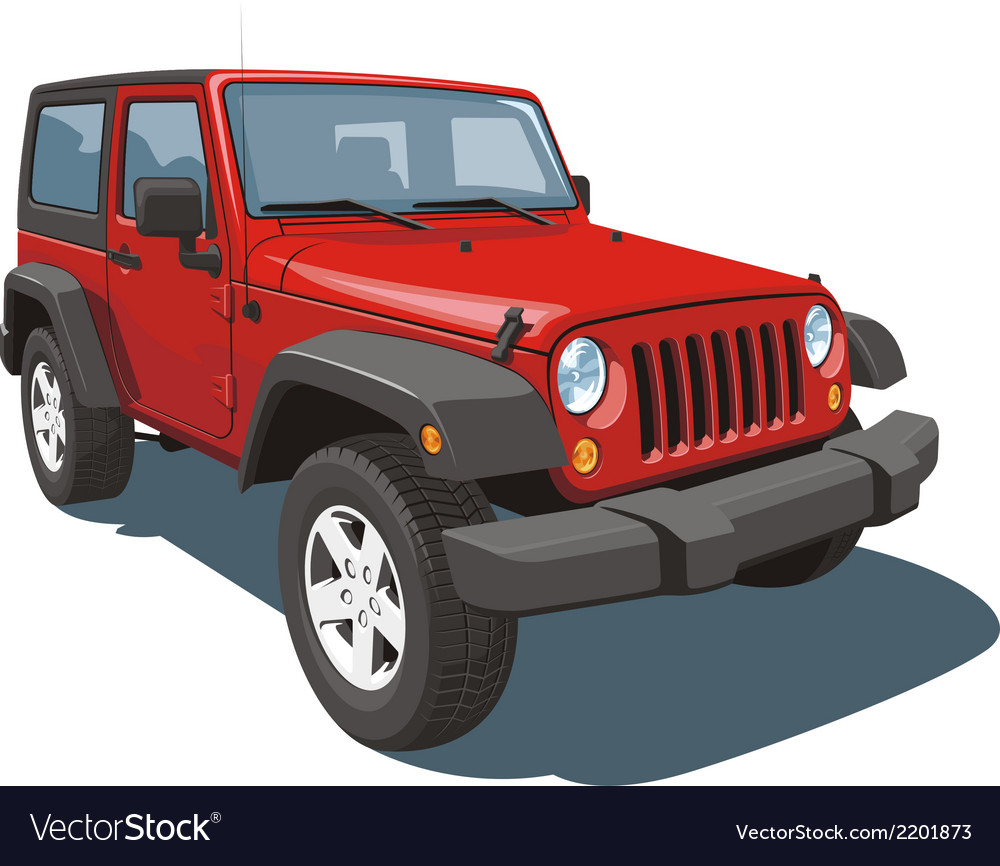 Off-road vehicle vector | Price: 3 Credit (USD $3)