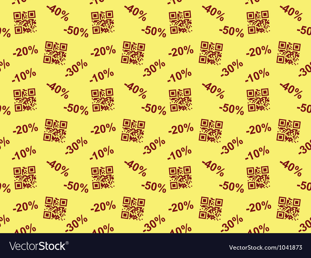 Seamless sale pattern vector | Price: 1 Credit (USD $1)