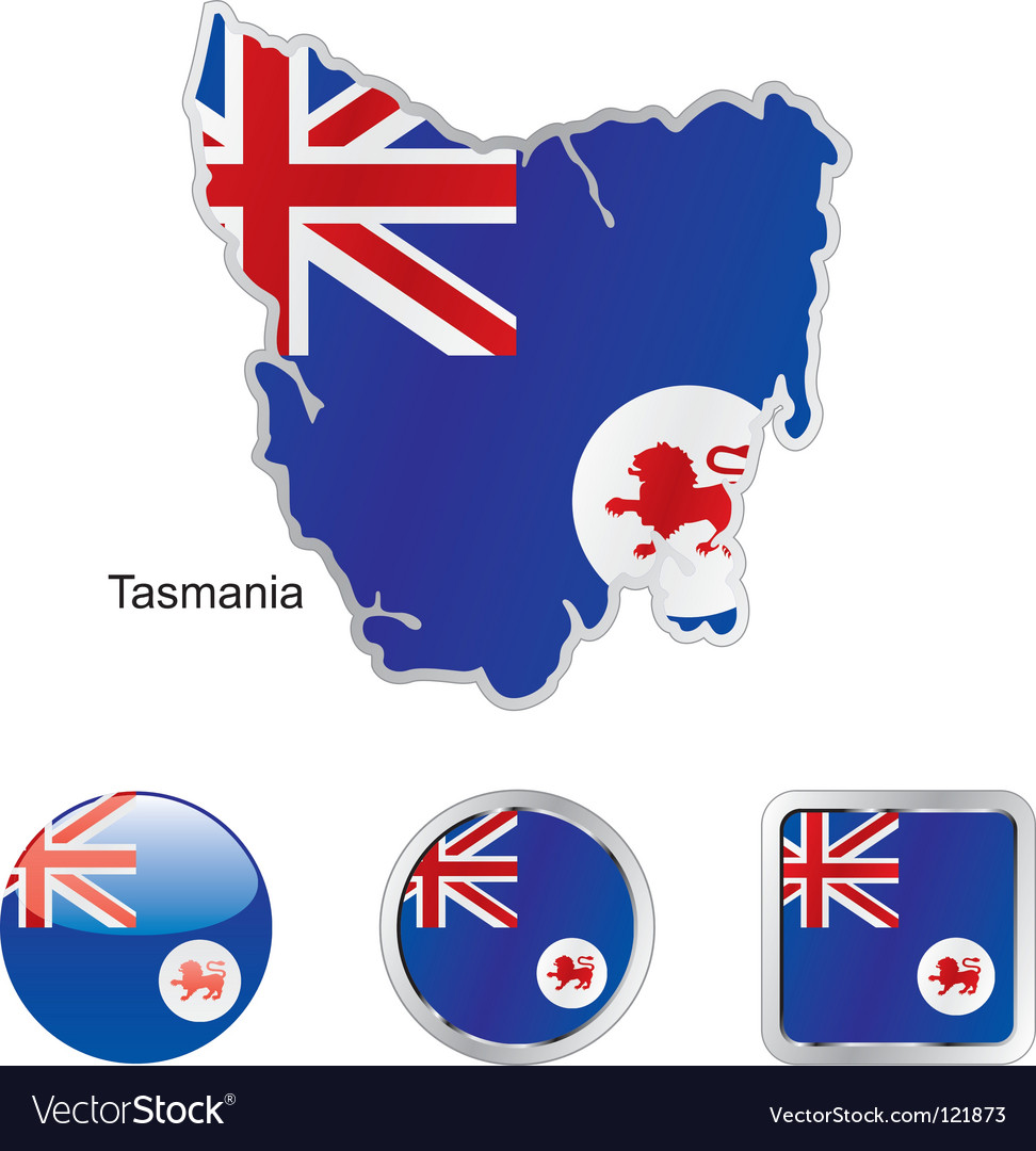 Tasmania vector | Price: 1 Credit (USD $1)