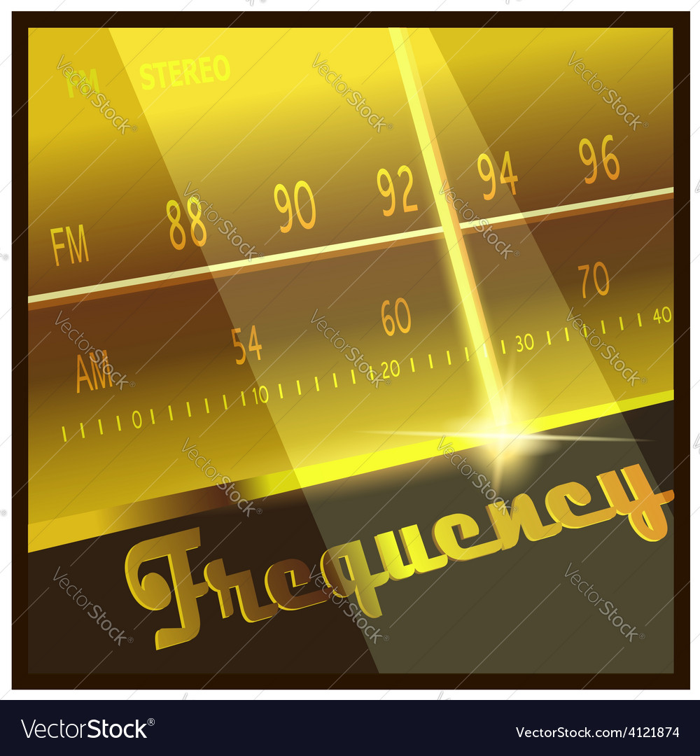 Frequency vector | Price: 1 Credit (USD $1)