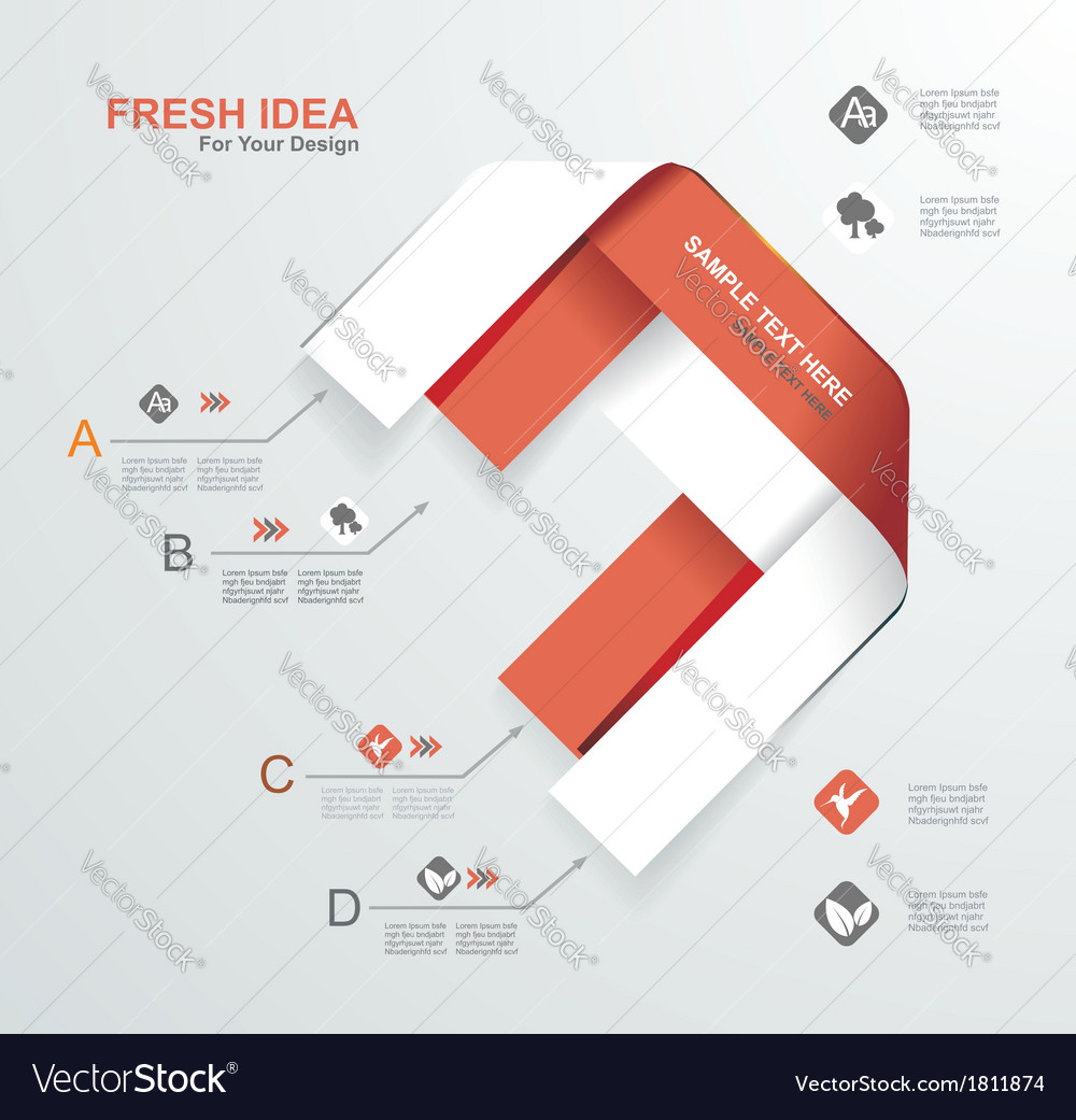 Minimal infographics vector   Price: 1 Credit (USD $1)