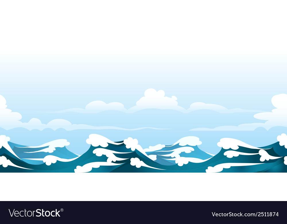 Seascape pattern vector | Price: 1 Credit (USD $1)