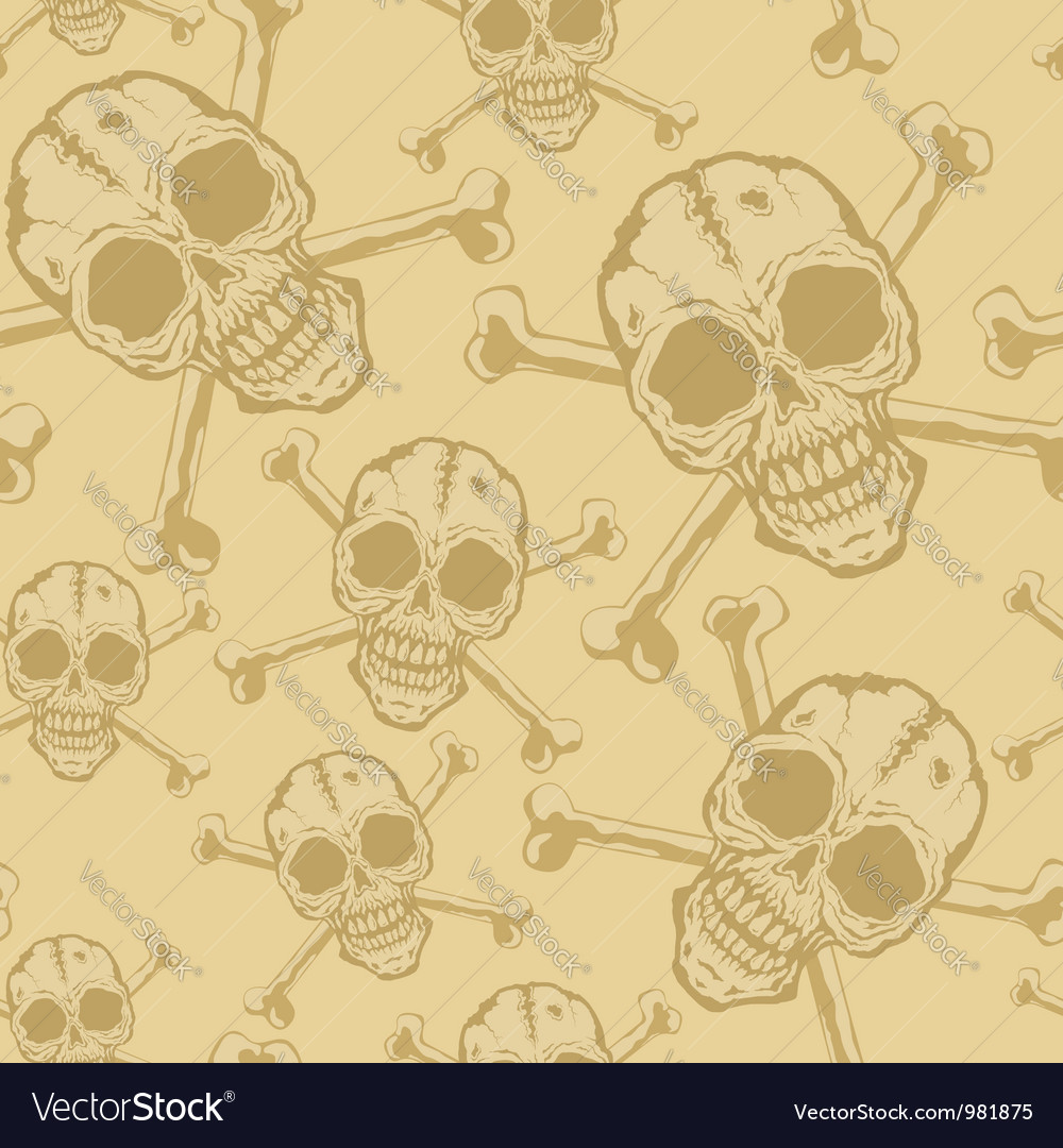 Pattern skull 2 vector | Price: 1 Credit (USD $1)