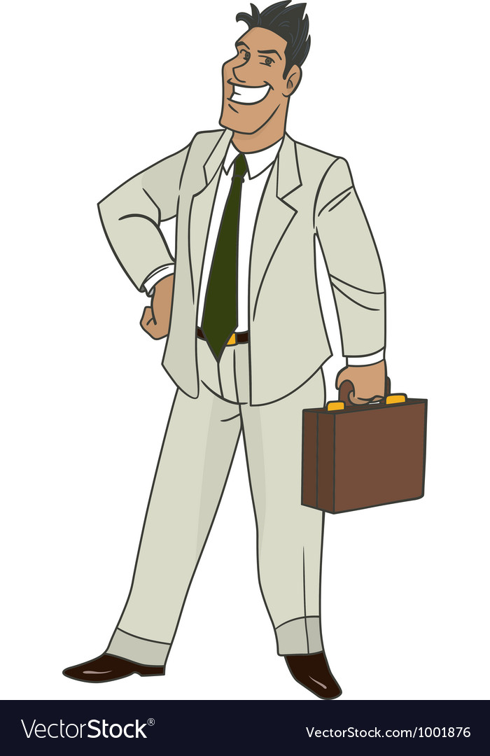 Businessman vector | Price: 3 Credit (USD $3)