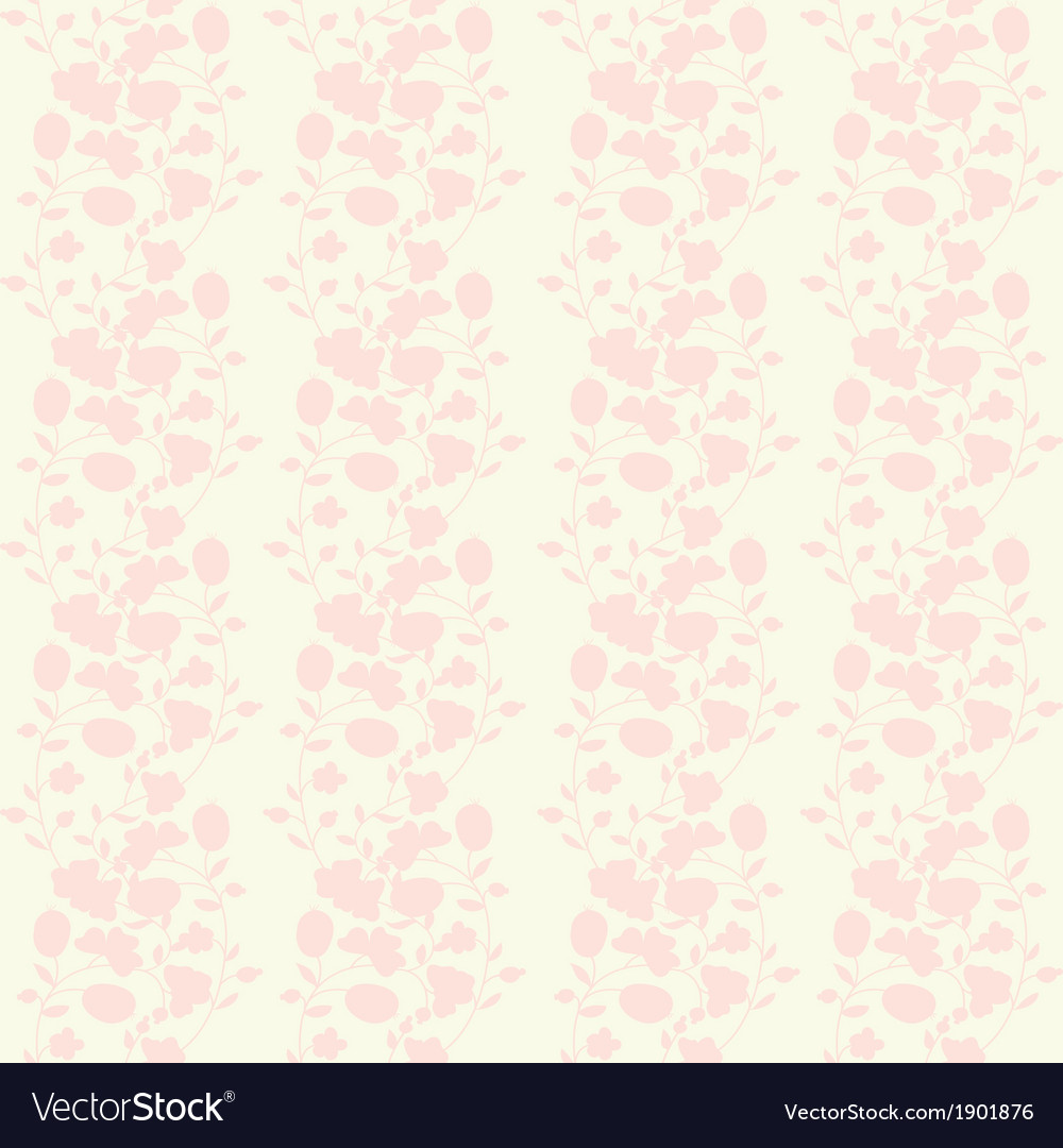 Neutral floral background swirl and curve vector | Price: 1 Credit (USD $1)