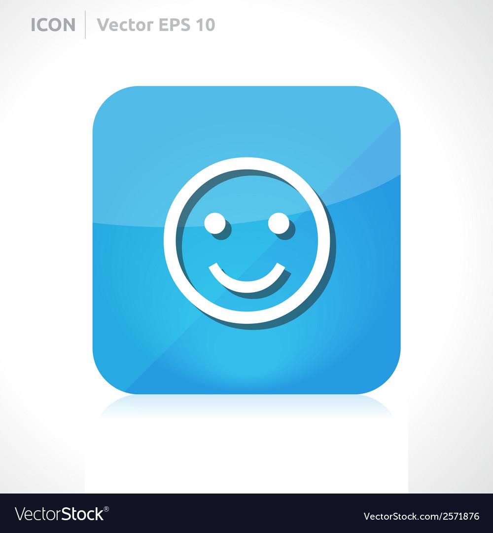 Smile icon vector   Price: 1 Credit (USD $1)