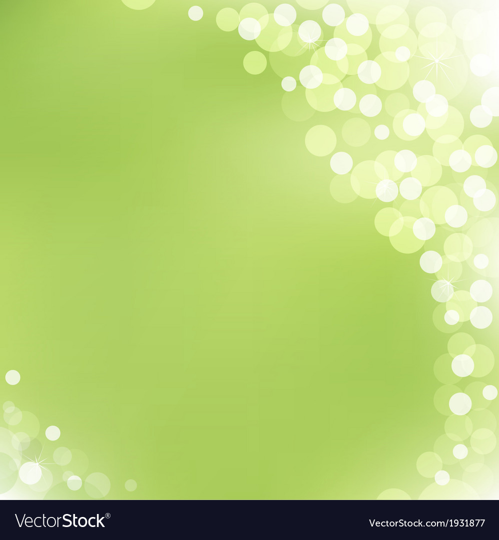 Green background with bokeh vector   Price: 1 Credit (USD $1)