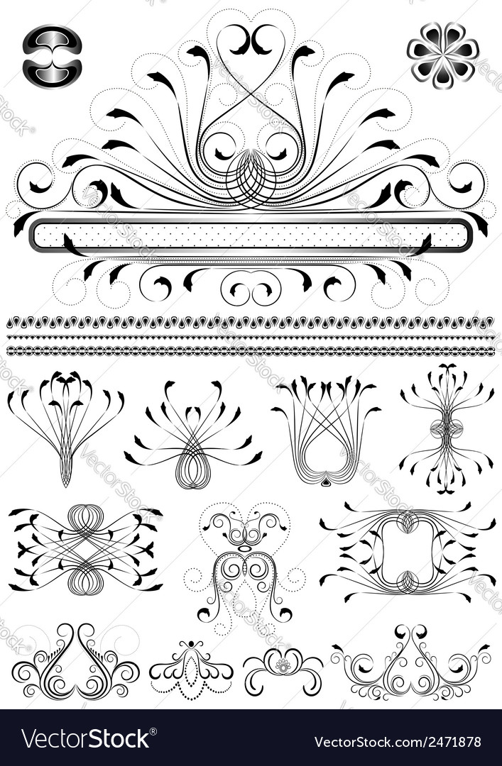 Collection of original frames vector | Price: 1 Credit (USD $1)