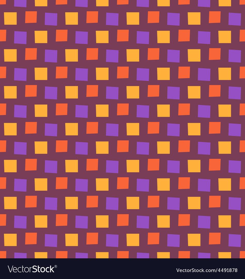 Seamless bright fun abstract mosaic pattern vector | Price: 1 Credit (USD $1)