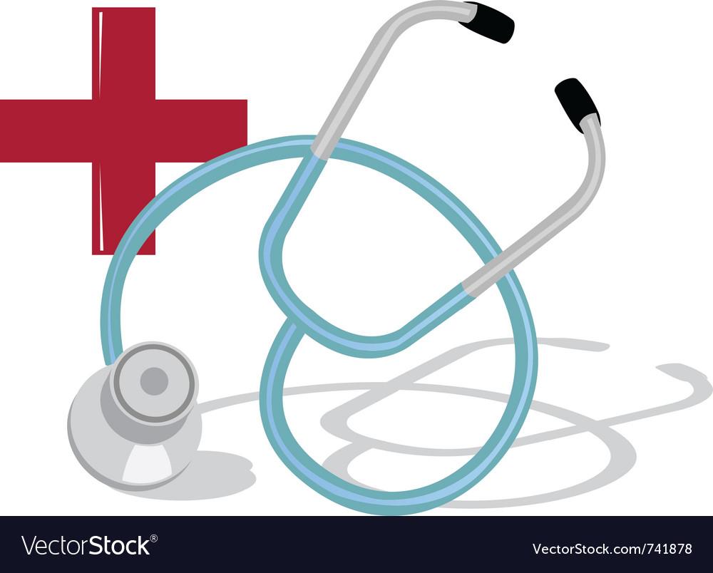 Stethoscope icon vector   Price: 1 Credit (USD $1)