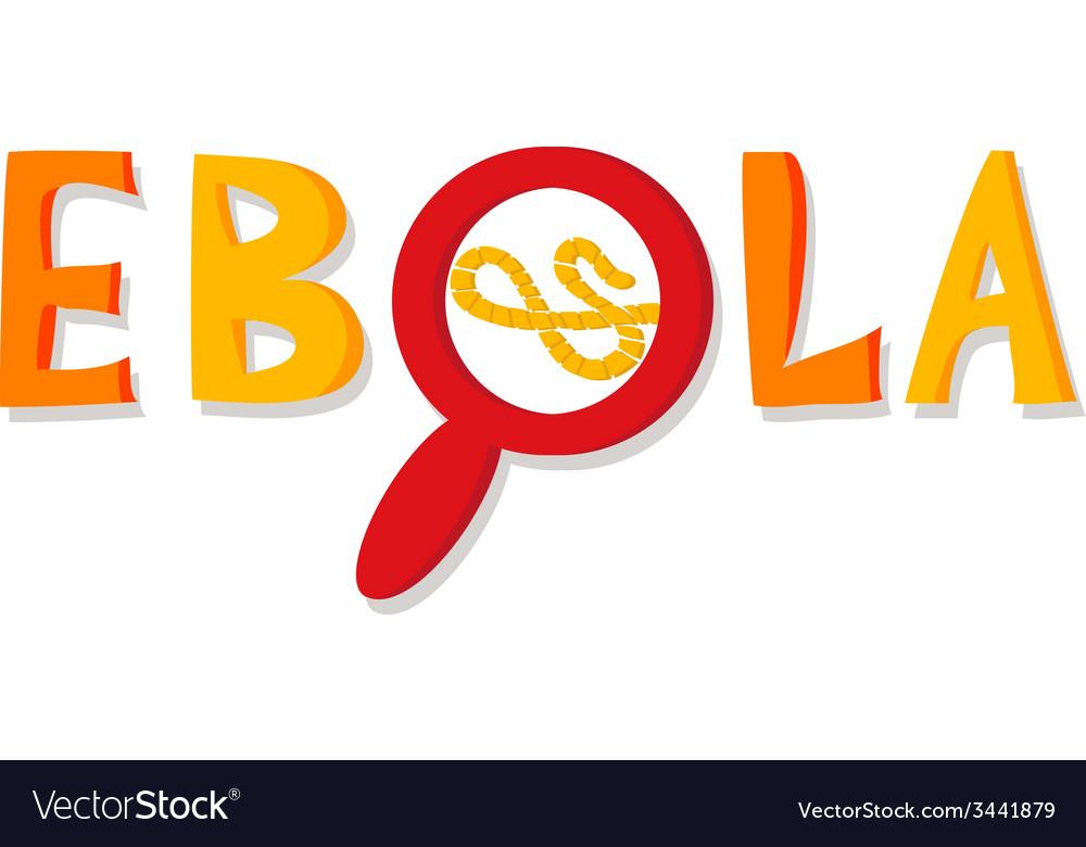 Ebola virus vector | Price: 1 Credit (USD $1)