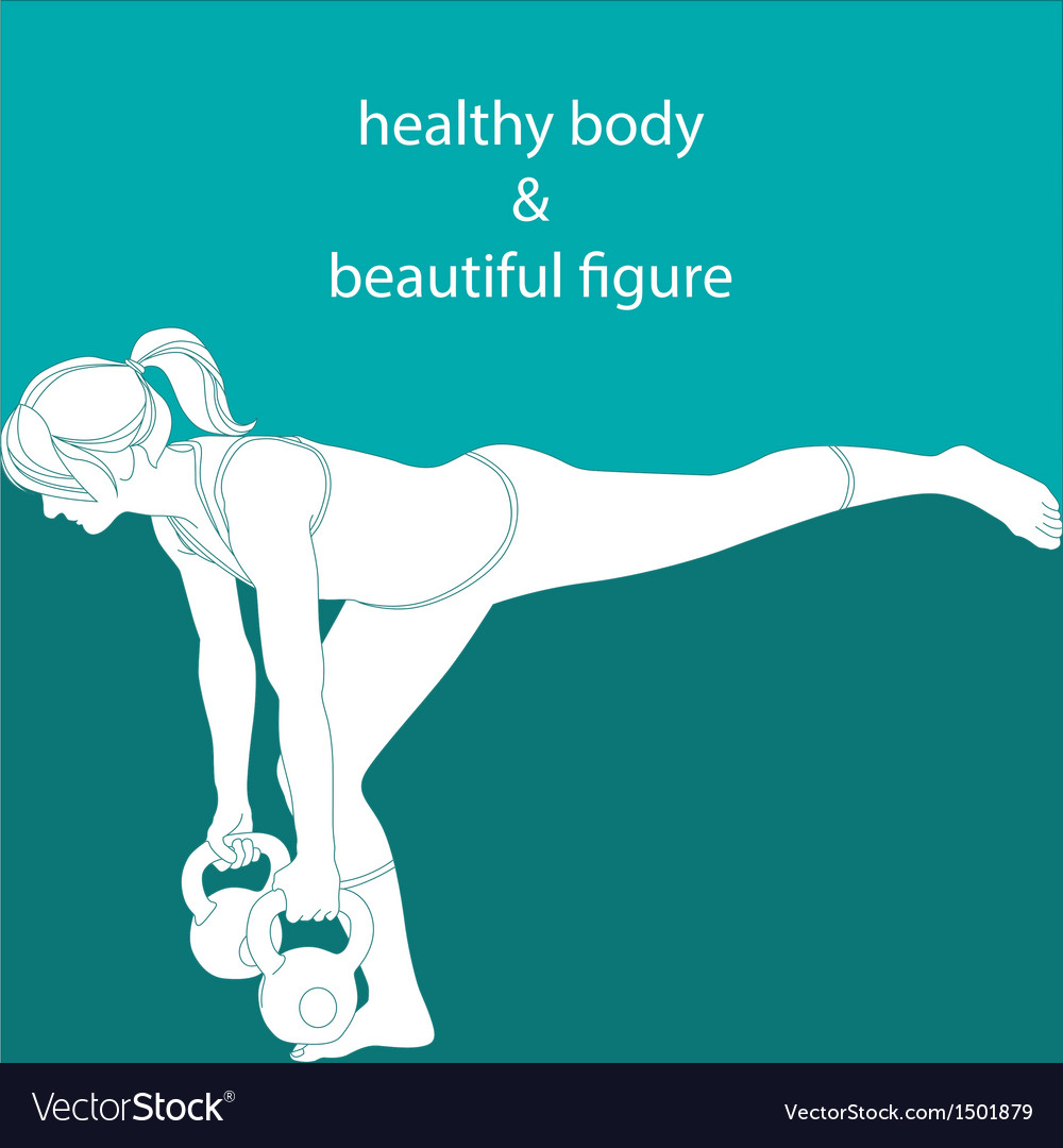 Healthy body and beautiful figure vector | Price: 1 Credit (USD $1)