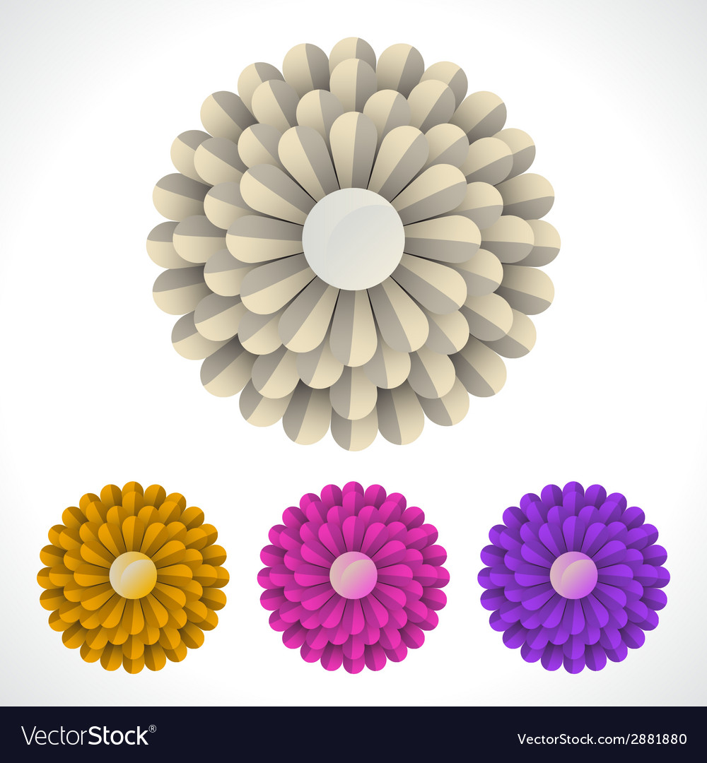 Blossom flower vector | Price: 1 Credit (USD $1)