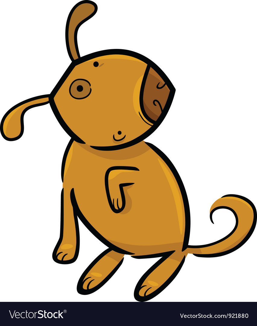 Doodle dog vector | Price: 1 Credit (USD $1)