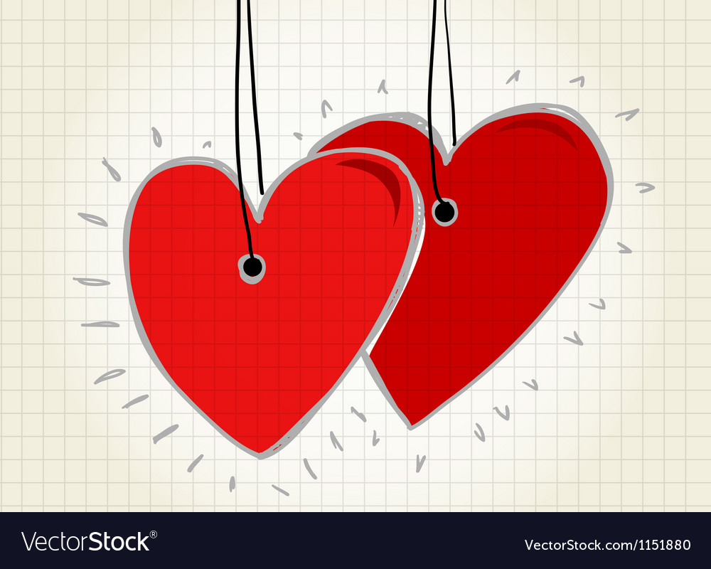 Happy valentines day card vector   Price: 1 Credit (USD $1)