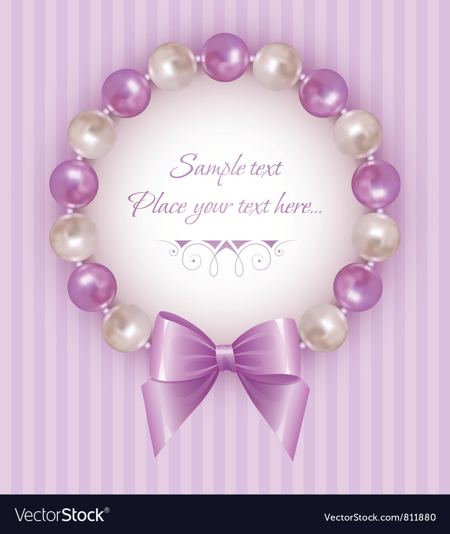 Pearl bracelet vector | Price: 1 Credit (USD $1)